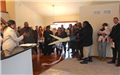 Ribbon Cutting Ceremony in a Washington Square Home