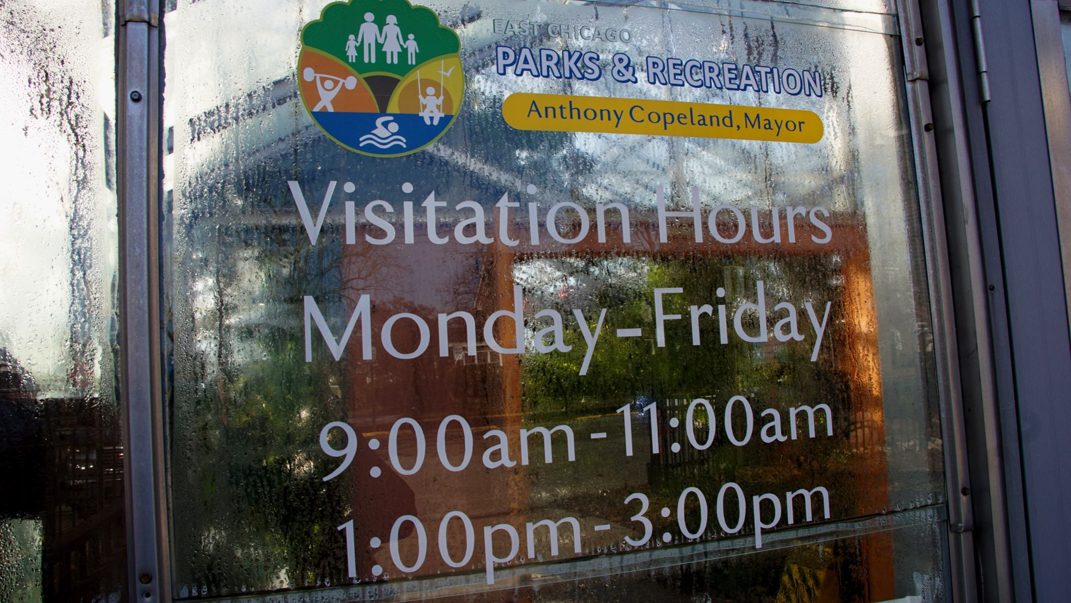 Visitation Hours Posted on the Front Door - Monday through Friday, 9 to 11 a.m. and 1 to 3 p.m.