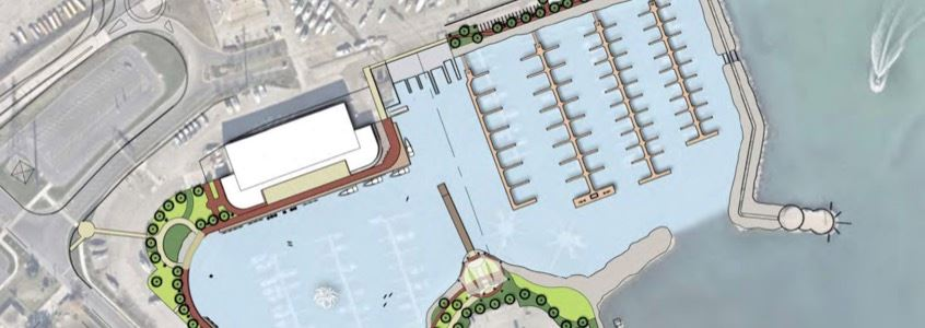 Conceptual Harborwalk Map