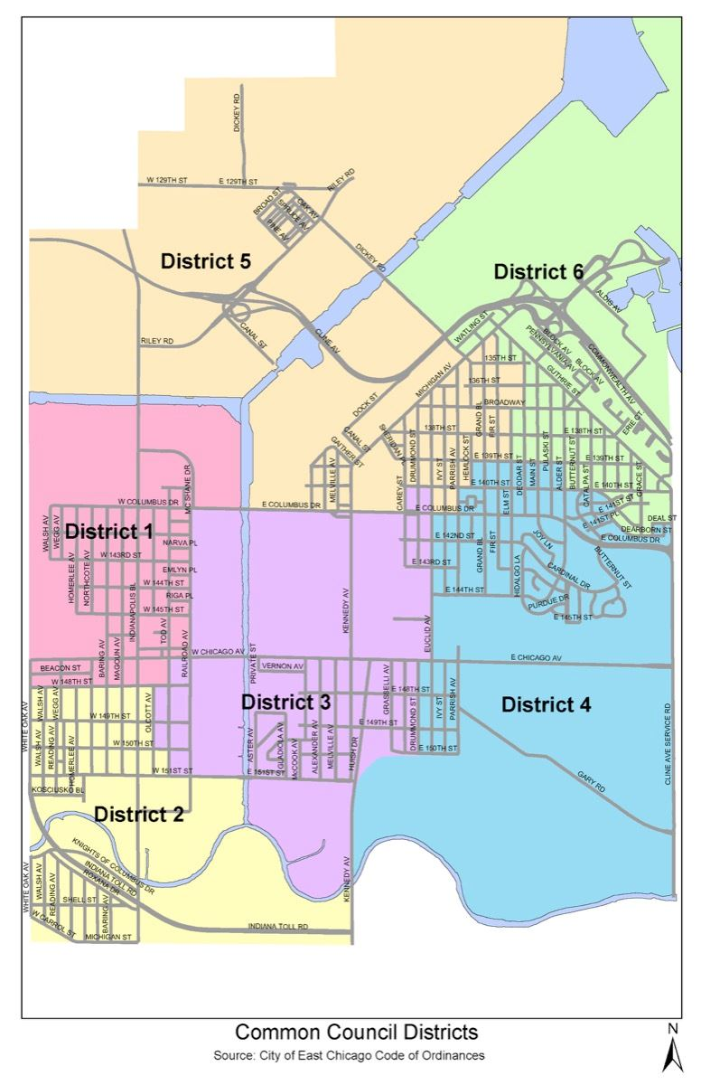 East Chicago District Map (JPG)