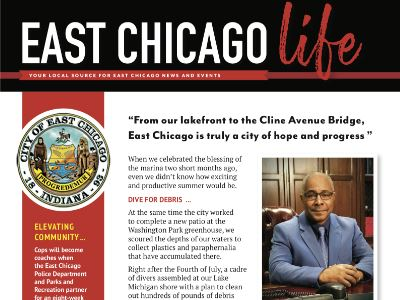 Botton for East Chicago City Newsletter