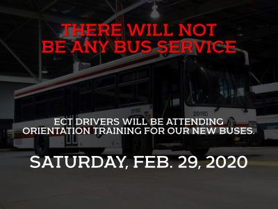 No Bus Service training GB