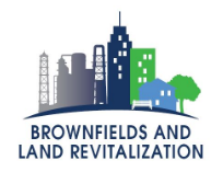 EPA Brownfields and Land Revitalization logo.